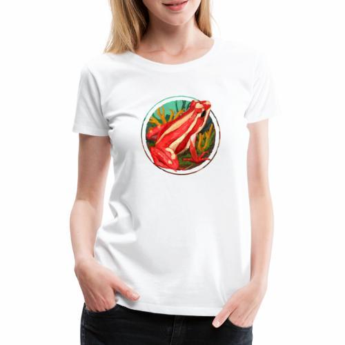 Dartfrog Anthony - Frauen Premium T-Shirt
