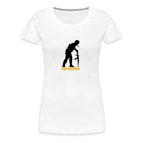 Træner Trøje - Dame premium T-shirt