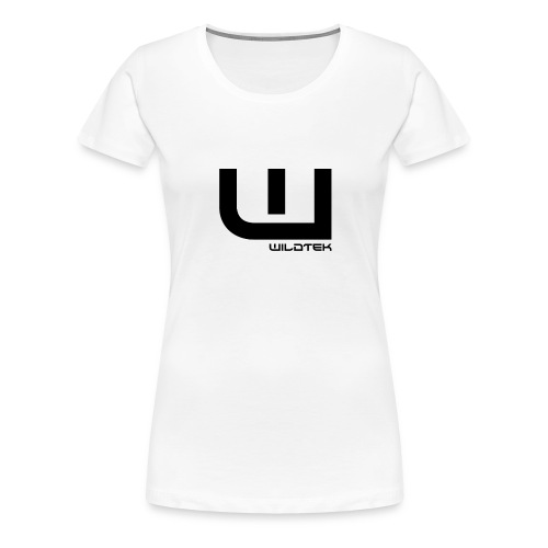 Wildtek Logo Black - Women's Premium T-Shirt