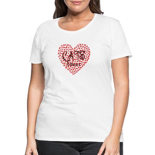 cats lover - Frauen Premium T-Shirt
