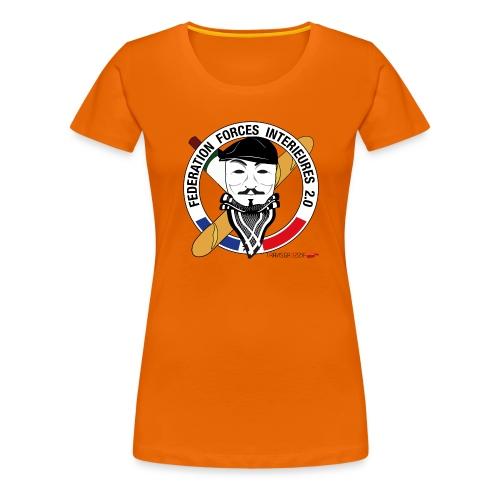 FFi Anonymous - T-shirt Premium Femme