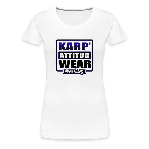 logo carr tshirt - T-shirt Premium Femme