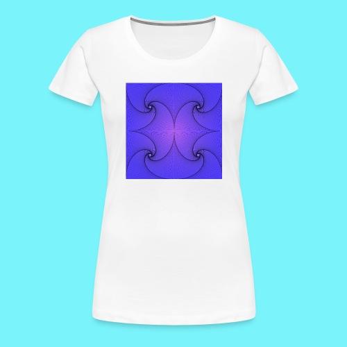 Blue Pursuit - Women's Premium T-Shirt