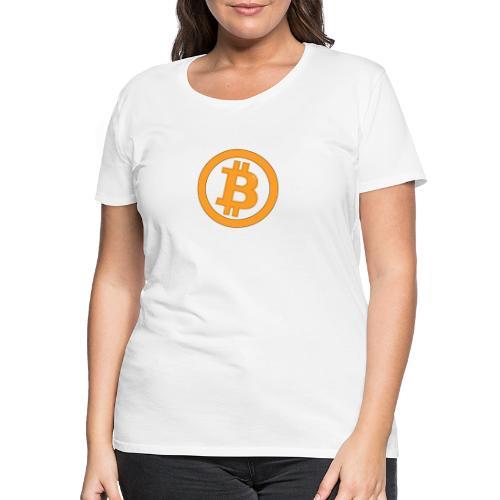 Bitcoin classique - T-shirt Premium Femme