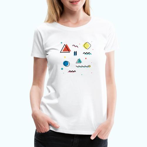 Abstract geometry - Women's Premium T-Shirt