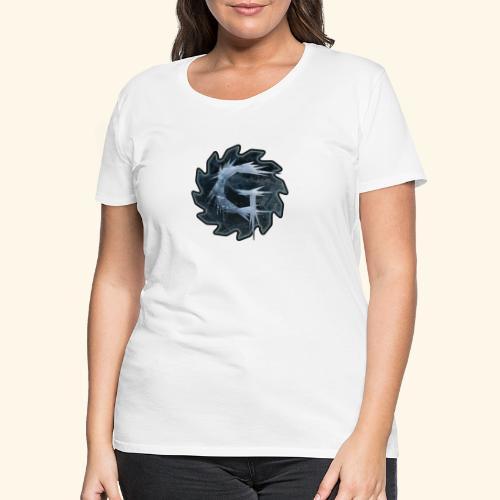 Glimmer logo 2019 v2 - Premium T-skjorte for kvinner