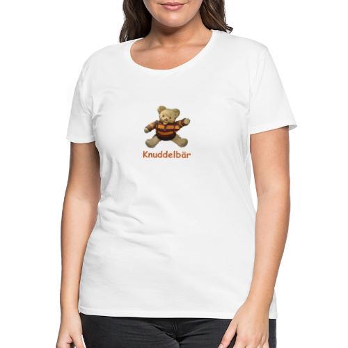 Teddybär Knuddelbär Schmusebär Teddy orange braun - Frauen Premium T-Shirt