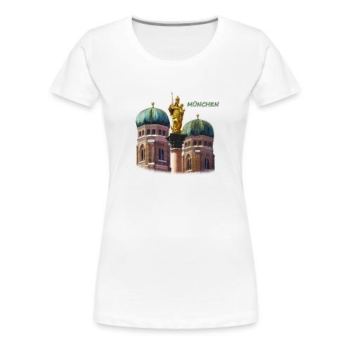München Frauenkirche - Frauen Premium T-Shirt