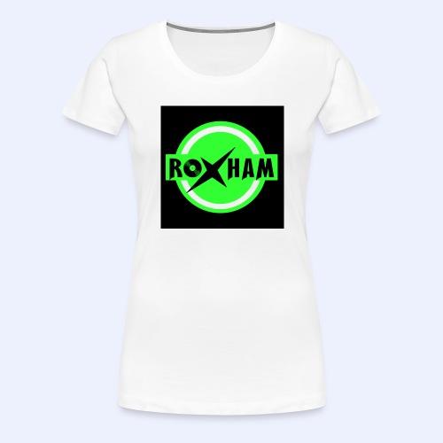 RoxHam-Button-2019 - Frauen Premium T-Shirt