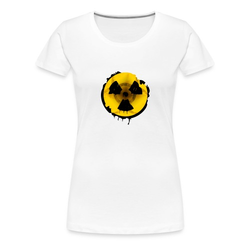 Radioaktives Tschernobyl-Schild - Frauen Premium T-Shirt