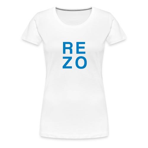 Rezo for president - Frauen Premium T-Shirt