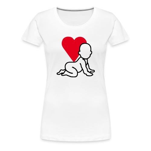 Herzkind Logo - Frauen Premium T-Shirt