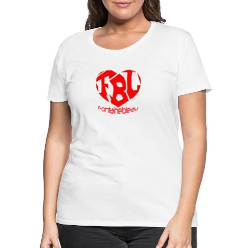 Coeur de Fontainebleau - T-shirt Premium Femme