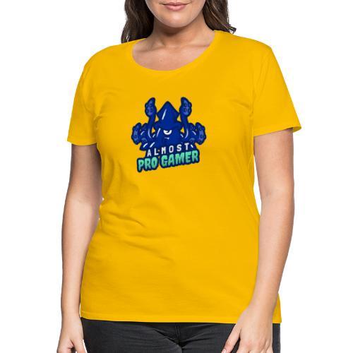 Almost pro gamer BLUE - Maglietta Premium da donna