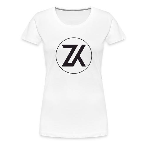 Z-K tryck (Zahid Khayree) - Premium-T-shirt dam