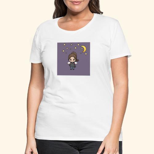 Mädel im Mondlicht - Frauen Premium T-Shirt