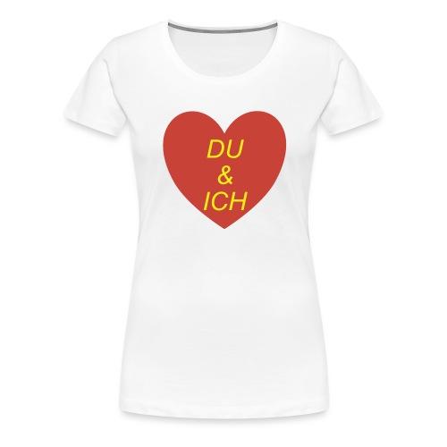 Herzilein - Frauen Premium T-Shirt
