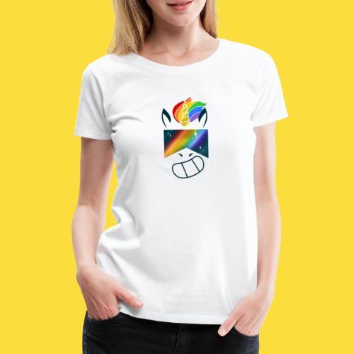 Bob la licorne ( spécial marche des fiertés) - T-shirt Premium Femme