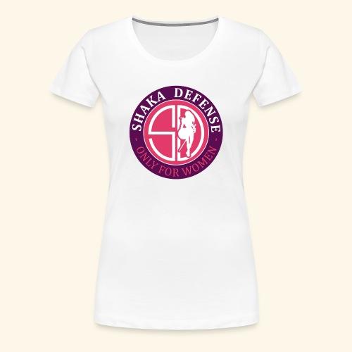 SHAKADEFENSE - Camiseta premium mujer