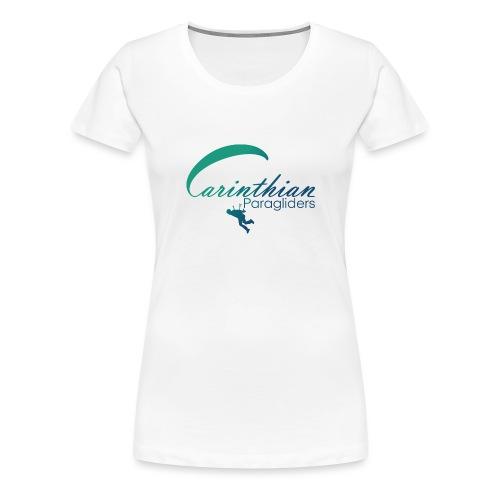 Carinthian Paragliders Logo 2019 - Frauen Premium T-Shirt