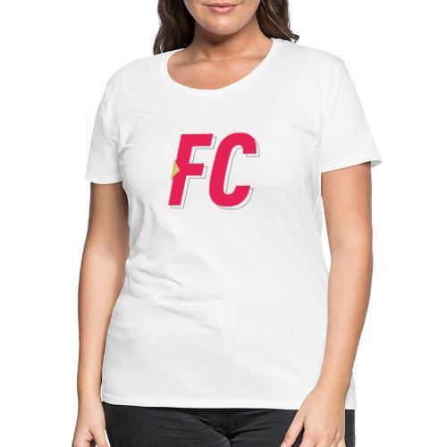 FC Logo - Dame premium T-shirt