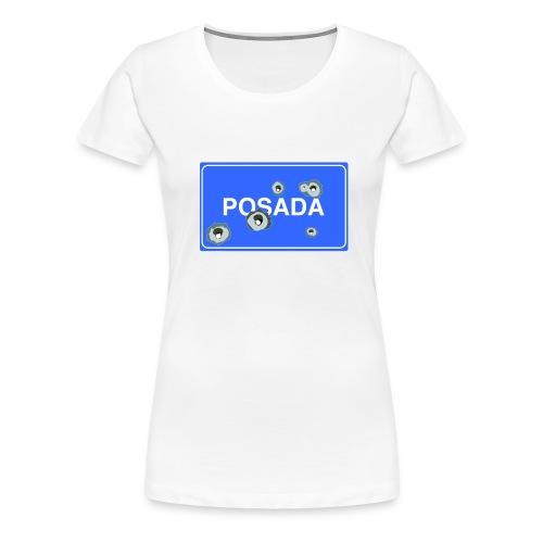 Cartello Posada blu - Maglietta Premium da donna