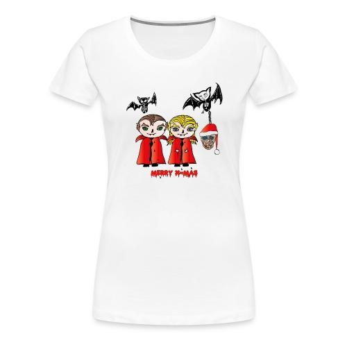 Frohe Weihnachten - Frauen Premium T-Shirt