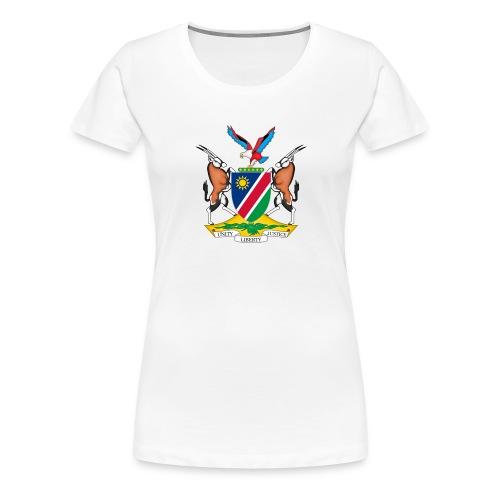 Namibia Coat of Arms - Frauen Premium T-Shirt