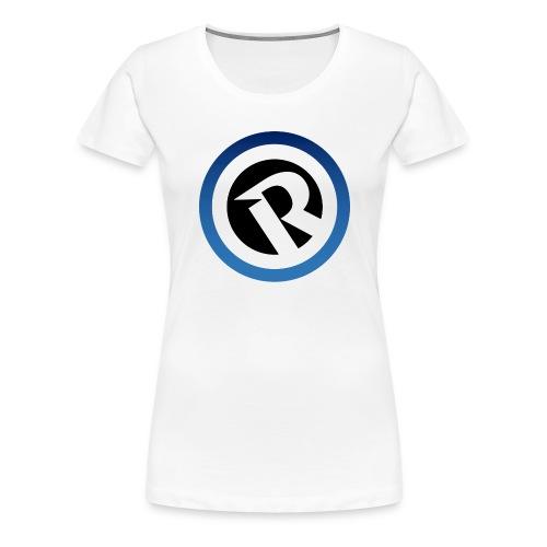 Logo Reborn Spoilers Blue - Women's Premium T-Shirt