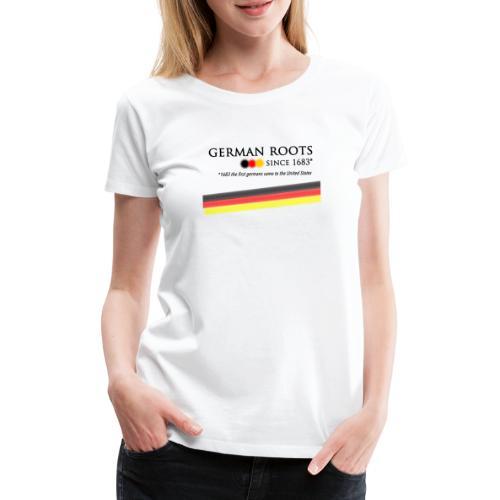 German roots in USA - Frauen Premium T-Shirt
