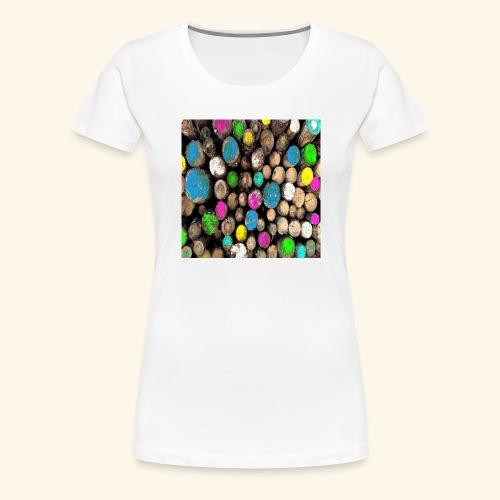 Tronchi colorati - Maglietta Premium da donna