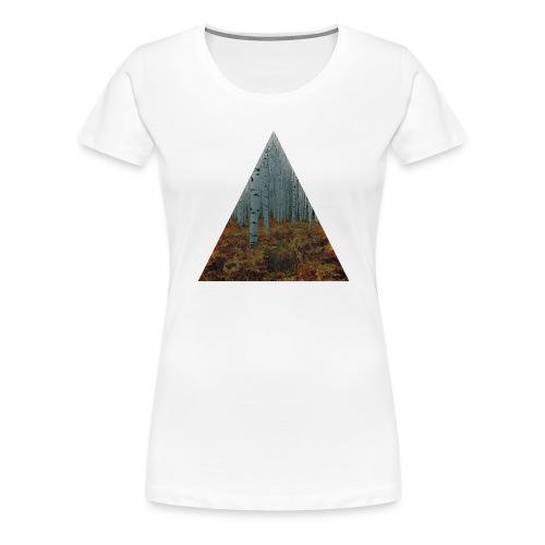 triangle/foret - T-shirt Premium Femme