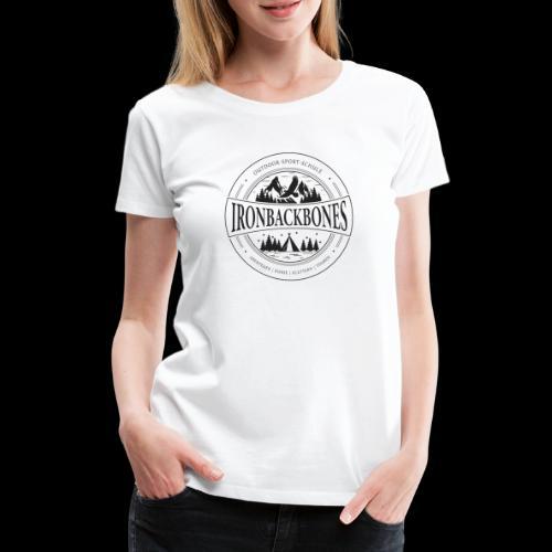 Outdoor-Sport-Schule IRONBACKBONES - schwarz - Frauen Premium T-Shirt