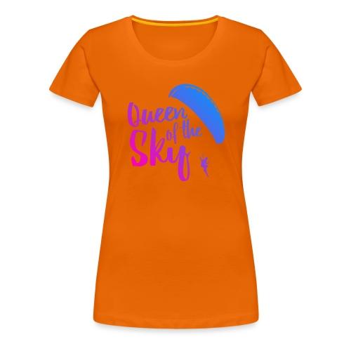 Queen of the Sky - Frauen Premium T-Shirt