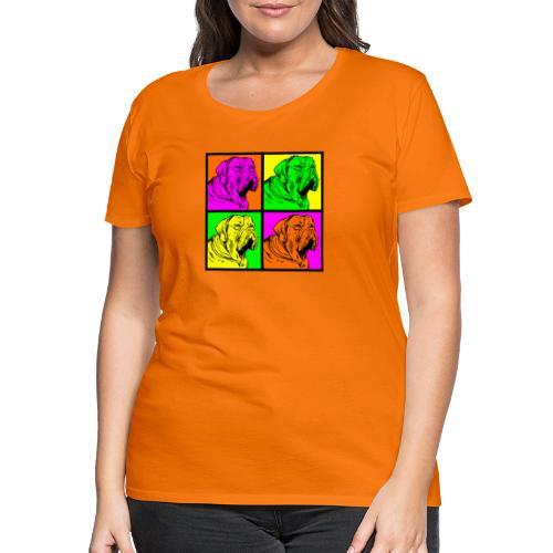 Bouledogue Anglais Couleur - T-shirt Premium Femme