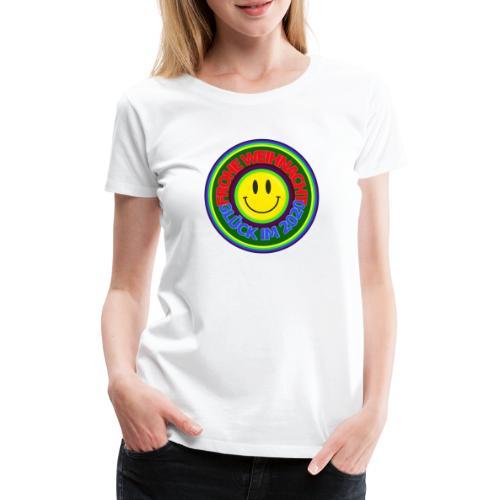 Frohe Weihnacht Glück im 2020 - Frauen Premium T-Shirt