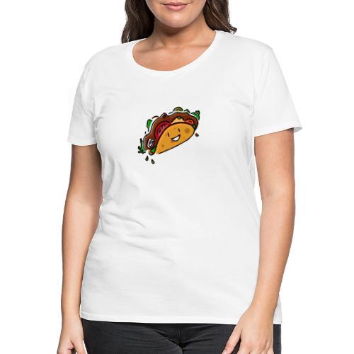 Glücklicher Taco - Frauen Premium T-Shirt