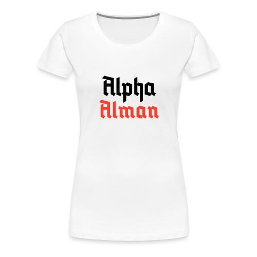 Alpha Alman - Frauen Premium T-Shirt