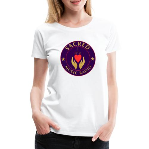 Spread Peace Through Music - Women's Premium T-Shirt
