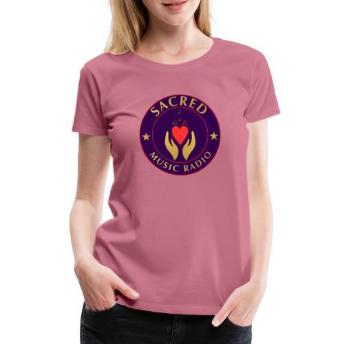 Spread Peace Through Music - Women's Premium T-Shirt
