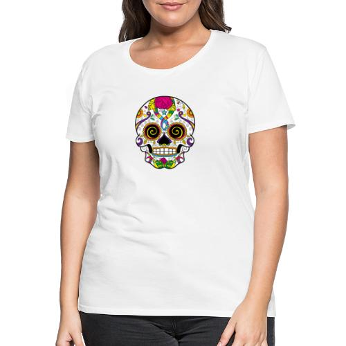skull3 - Maglietta Premium da donna