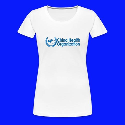 China Health Organization - Women's Premium T-Shirt