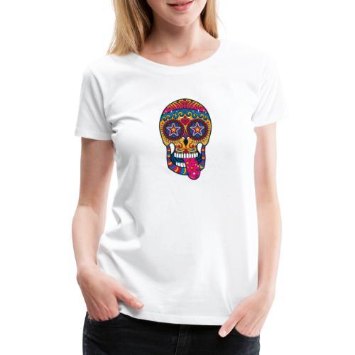 Mexican Skull - Maglietta Premium da donna