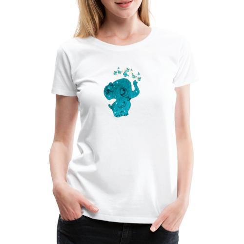 Elefante - Maglietta Premium da donna