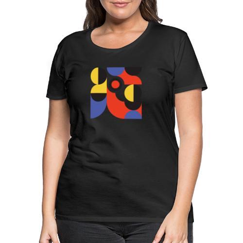 Bauhaus no 1 - Dame premium T-shirt