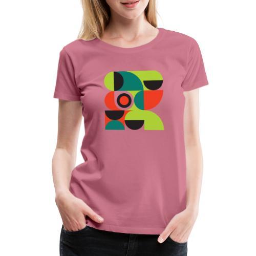 Bauhaus no 2 - Dame premium T-shirt