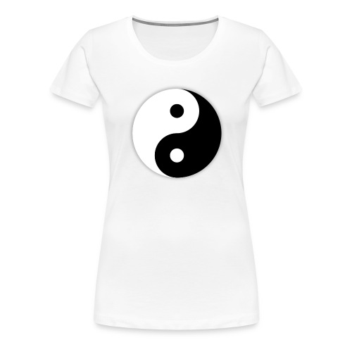 Yin and Yang svg - T-shirt Premium Femme