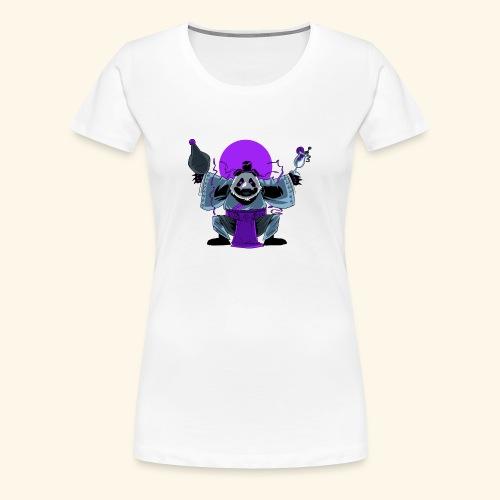 Panda Barman - T-shirt Premium Femme