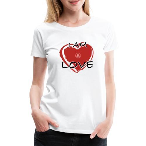 IM LOVE MaitriYoga - T-shirt Premium Femme