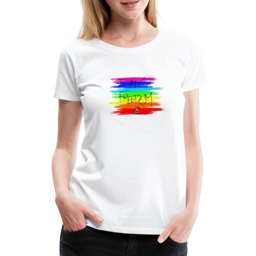 I AM FREEDOM MaitriYoga - T-shirt Premium Femme